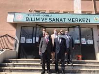 Özel Eğitim Ve Rehberlik Hizmetleri Genel Müdürlüğünden Çorlu'daki Eğitim Kurumlarına Ziyaret