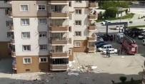Sinir Krizi Geçiren Adam Ev Eşyalarını 8'İnci Kattan Attı