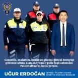 Başkan Erdoğan, 'Halkımızın Huzur Ve Güvenliği, Kahraman Polisimizin Eseridir'