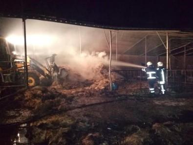 Biga'da Samanlık Yangını
