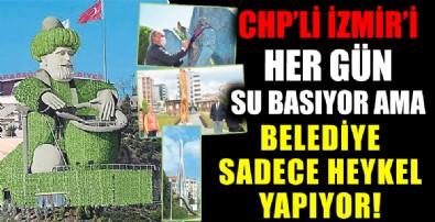 İzmir'e heykelci zihniyet eziyeti!