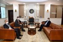 Kazakistan Büyükelçisi Saparbekuly, Vali Gürel İle Görüştü