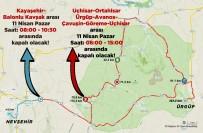 Nevşehir'de Cumartesi Ve Pazar Günü Bazı Yollar Trafiğe Kapalı Olacak