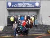 Öğrencilerden Polislere Anlamlı Ziyaret