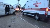 Panelvan Minibüs Takla Attı Açıklaması 1 Ölü, 7 Yaralı