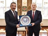 Siirt Valisi Osman Hacıbektaşoğlu, Yargıtay Birinci Başkanı Mehmet Akarca'yı Ziyaret Etti