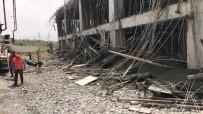 Şırnak'ta Terminal İnşaatında İskele Çöktü Açıklaması 4 Yaralı