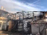 Sungurlu'da Tandırlık Yangını