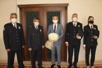 Tosya Polis Teşkilatından Kaymakama Ziyaret