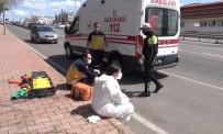 Vakaya Giden Ambulansa Çarptı, İlk Müdahaleyi Çarptığı 112 Görevlileri Yaptı