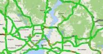 İstanbul trafiğinde 'tam kapanma' etkisi
