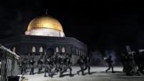 Mescid-i Aksa'da 'Erdoğan' sesleri: İsrail zulmüne direnen Filistin halkı Başkan Recep Tayyip Erdoğan sloganları attı