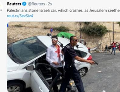 Reuters'ten aşağılık provokasyon! Böyle masumlaştırdılar!