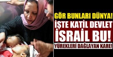 Yürek yakan kareler! İşte katil terör devleti İsrail!