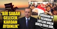 Cumhurbaşkanı Erdoğan, 'Kardan Aydınlık' şiirini okudu