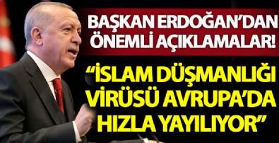 Başkan Erdoğan Kur'an-ı Kerim'i Güzel Okuma Yarışması Final Programı'nda konuşuyor