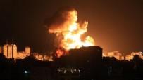 Terör devleti İsrail Gazze Şeridi'ne saldırmaya devam ediyor!