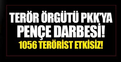 Terör örgütü PKK'ya 'Pençe' darbesi! Bakan Akar açıkladı