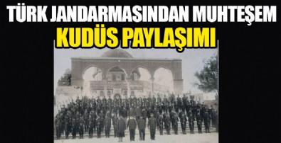 Türk Jandarmasından muhteşem Kudüs paylaşımı