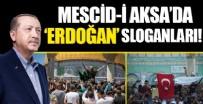 Mescid-i Aksa'da 'Erdoğan' sloganları!