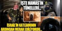 Hamas nedir? Hamas kimdir? İsrail'in hedefindeki Hamas tünelleri görüntülendi