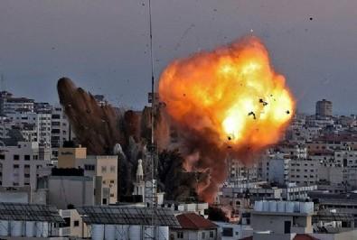 İsrail 3 koldan Filistin'i katlediyor