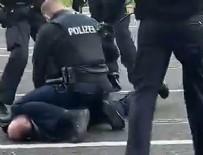 Alman polisinden psikolojik rahatsızlığı olan Türk vatandaşına sert müdahale!