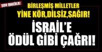 Birleşmiş Milletler'den İsrail'e ödül gibi çağrı!