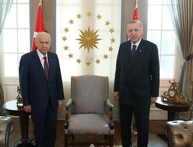 Başkan Erdoğan, Devlet Bahçeli görüşmesi sona erdi!