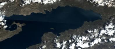 Göktürk uydusu, Van Gölü fotoğrafını çekti