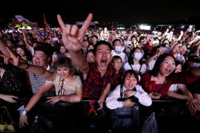 Koronavirüsün çıktığı Vuhan'da müzik festivali