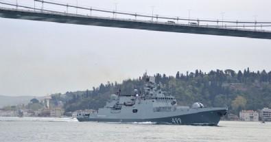 Rus donanması boğazdan geçti!