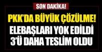 SELAHATTİN DEMİRTAŞ - Bakanlık açıkladı! PKK'da çözülme sürüyor: 3 örgüt üyesi daha teslim oldu
