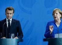 Macron ve Merkel'den 'casusluk' suçlaması!