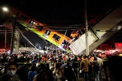 Meksika'da metro felaketi: Ölü ve yaralılar var