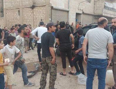 Afrin'de terör saldırısı! Çok sayıda çocuk yaralandı!