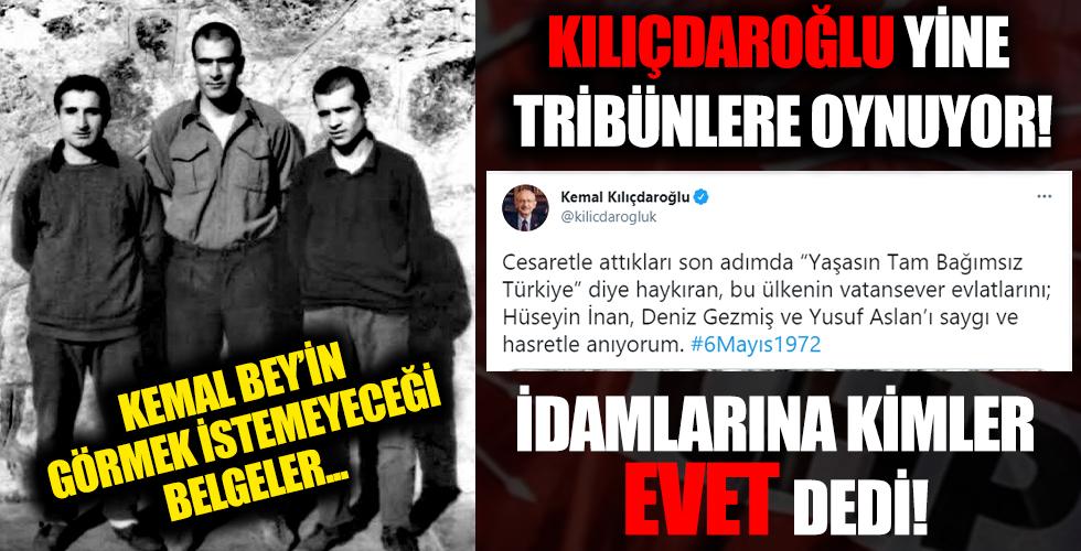 CHP Deniz Gezmiş ve arkadaşlarının idamına onay verdi