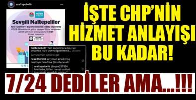CHP'li Belediye'nin hizmet yalanı! 7/24 diye şov yaptılar ama...!!!