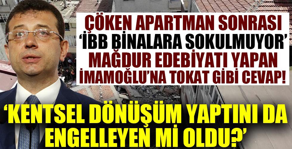 Zeytinburnu Belediye Başkanı Arısoy'dan İmamoğlu'na tokat gibi yanıt!