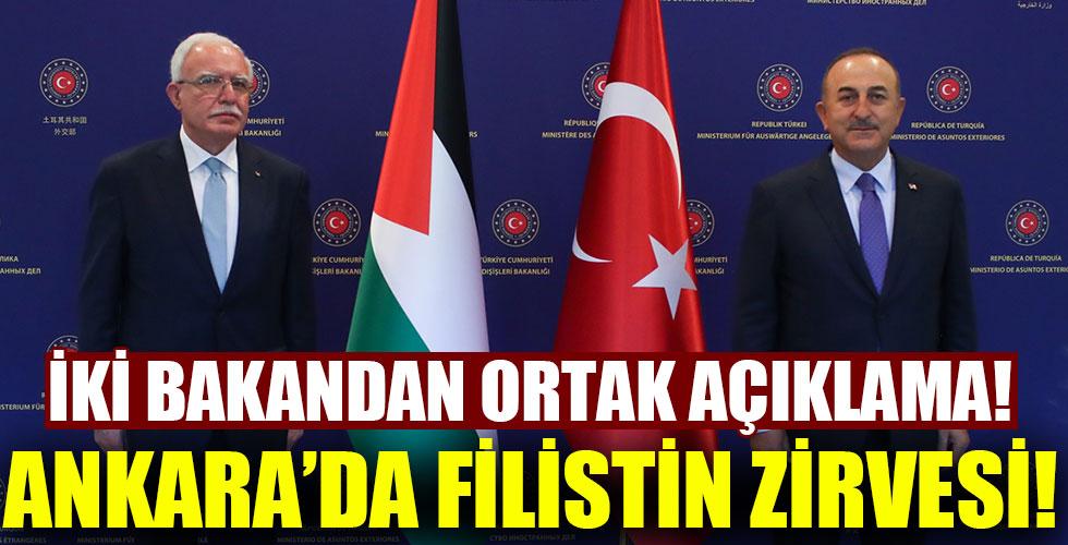 Ankara'da Filistin zirvesi!