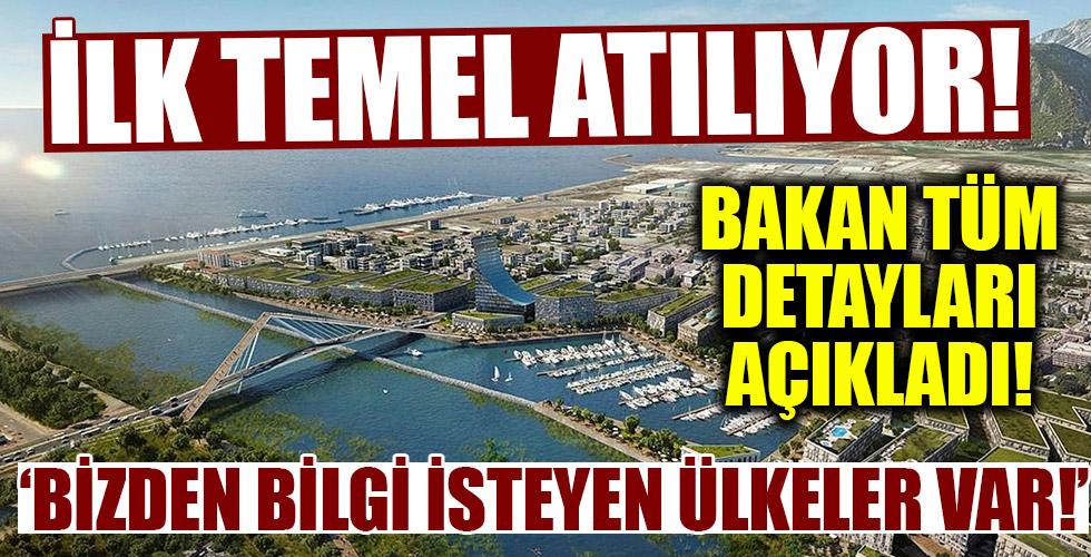 Bakan Karaismailoğlu açıkladı: Kanal İstanbul ile ilgili bizden bilgi isteyen ülkeler var!