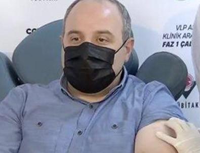 Bakan Varank 2. doz yerli aşıyı oldu!