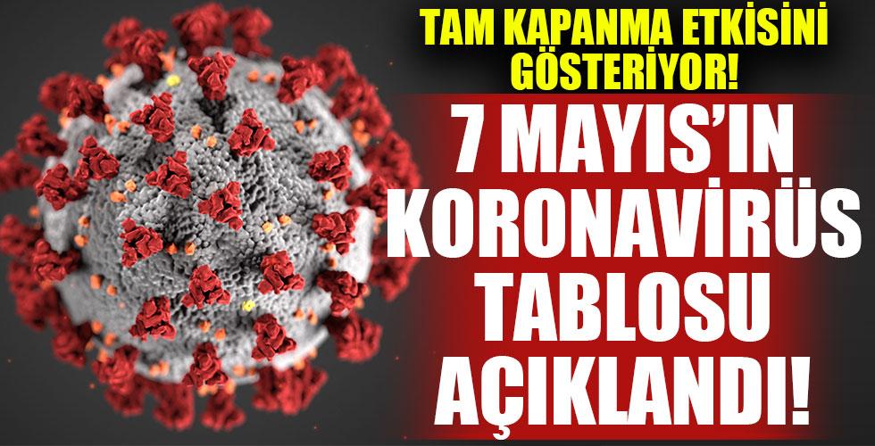 Koronavirüste son durum! 7 Mayıs'ın tablosu!