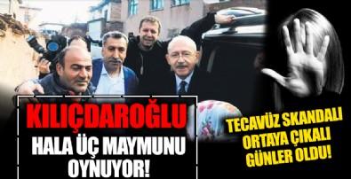 CHP'de yine bir tecavüz rezaleti! Kılıçdaroğlu ve Genel Merkez suskun