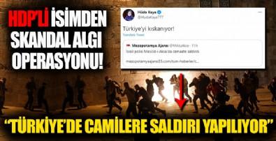 HDP'li Hüda Kaya'dan, 'Türkiye'de camilere saldırı düzenleniyor' algısı
