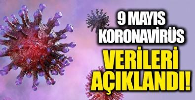 9 Mayıs koronavirüs verileri açıklandı!