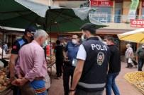 Keşan'da diliyle parmaklarını ıslatarak poşetleri açan pazarcıya ceza