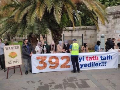 1 kilo tatlıya 392 lira veren İBB yönetimi gençler tarafından protesto edildi