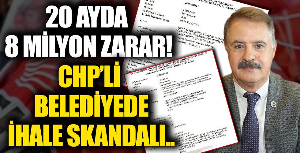 CHP'li Cemil Deveci'den ihale skandalı: 20 ayda 8 milyon TL zarara uğrattı