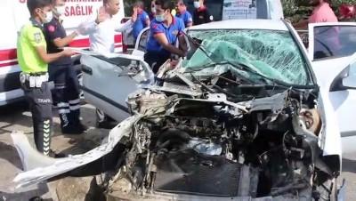 Adana'da Trafik Kazasinda 3 Ilçe Milli Egitim Müdürü Ve 2 Sube Müdürü Yaralandi